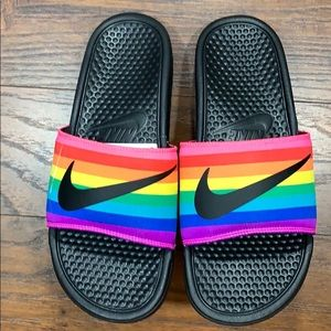 NIKE BENASSI JDI BETRUE Black/Black-Multi-Color